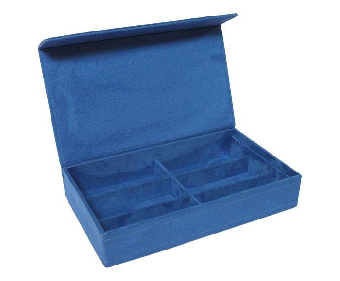 Estojo Organizador para Óculos Dale Azul - 35X31cm | Westwing.com.br