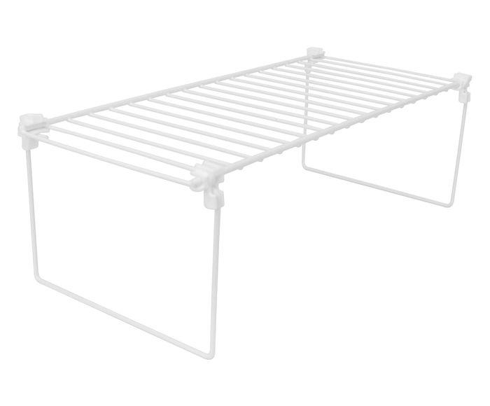 Prateleira para Bancada Espaço Plus Branca - 40,5X12,5X19cm | Westwing.com.br