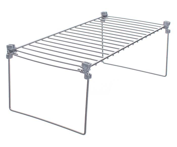 Prateleira para Bancada Espaço Plus Cromada - 40,5X12,5X19cm | Westwing.com.br