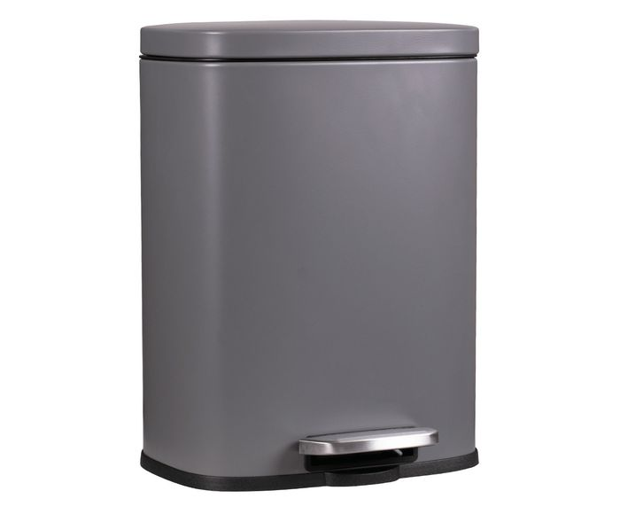 Lixeira Matte Chumbo - 30L | Westwing.com.br