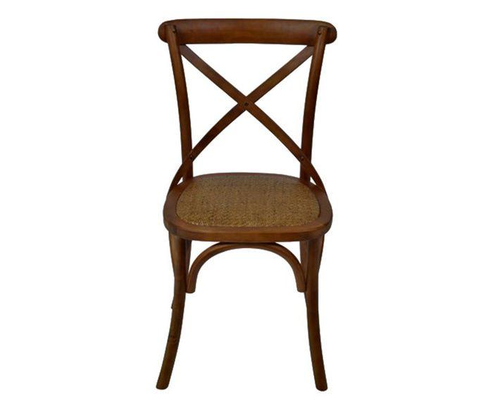 Cadeira Cross Caramelo - 55X89X49cm   Westwing.com.br