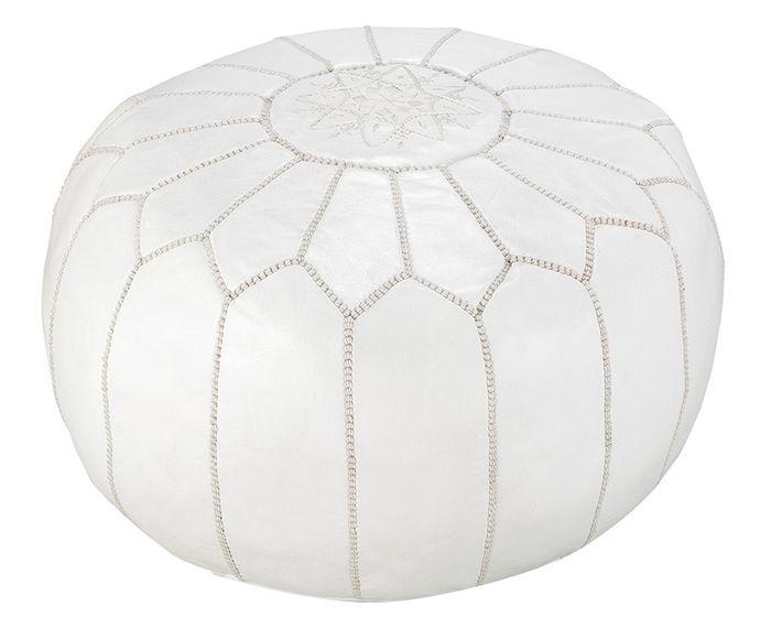 Capa de Pufe Moroccan White - 32X55cm | Westwing.com.br