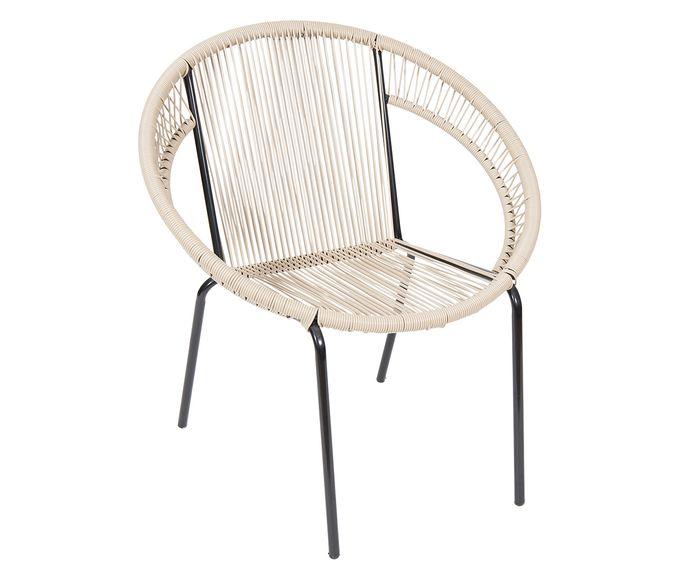 Cadeira Cancun Bege - 73X78X45cm | Westwing.com.br