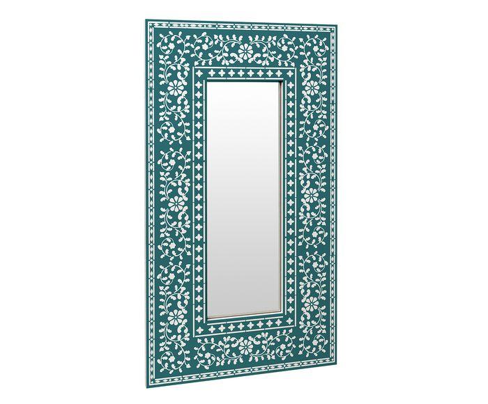 Espelho Odessa Turquesa - 50X90cm   Westwing.com.br