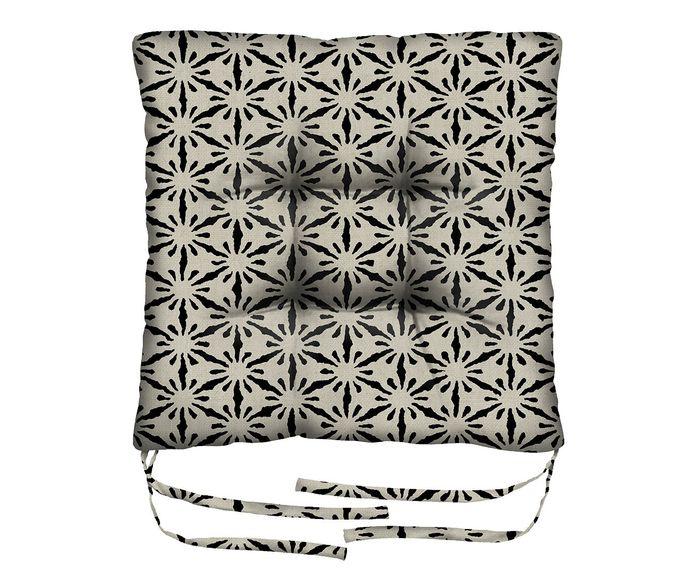 Assento de Cadeira em Linho Misto Octans - 45X45cm | Westwing.com.br