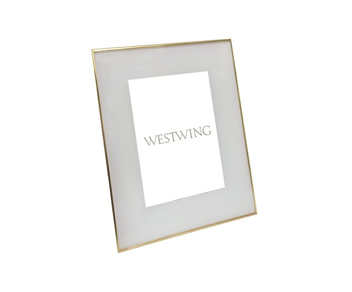 Porta-Retrato Tunceli Dourado - 23X28X15cm | Westwing.com.br