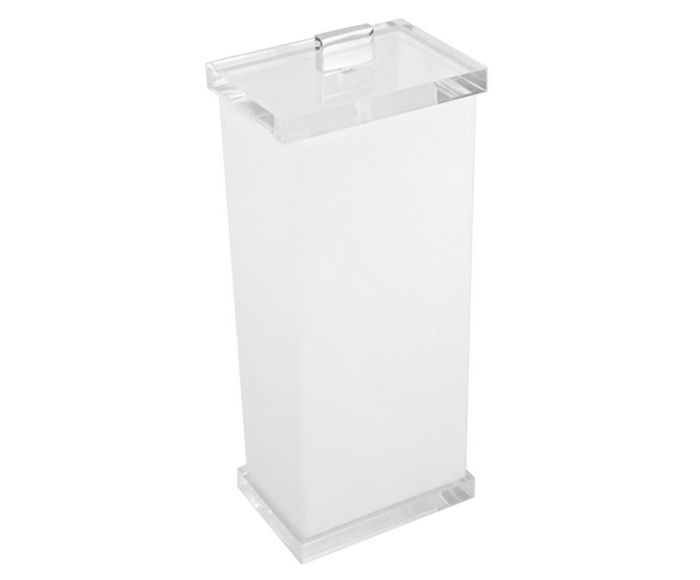 Porta-Escova Estilo Charm Branco - 10X23X7cm | Westwing.com.br