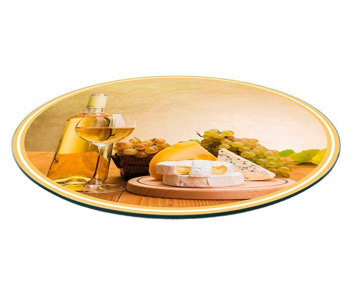 Prato Giratório em Inox Gusto - 50cm | Westwing.com.br