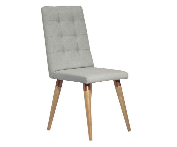 Cadeira Olga Cinamomo Cinza Claro - 45,5X99X55cm | Westwing.com.br