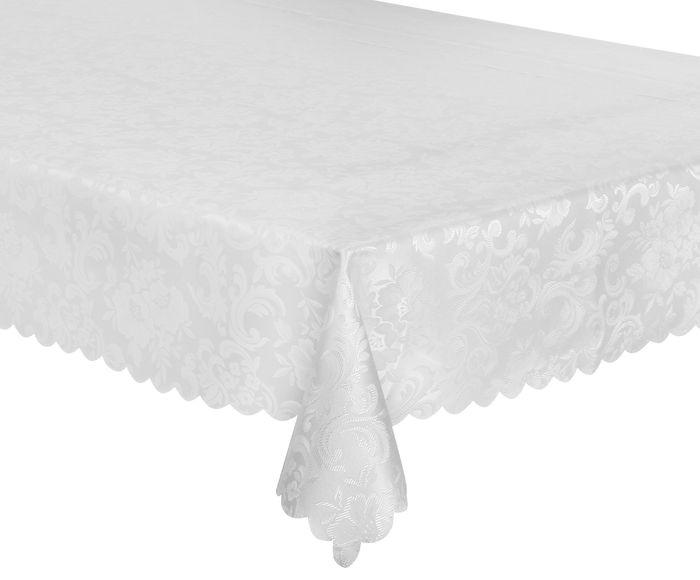 Toalha de Mesa Impermeável Auguri Arabesco Off White - 160X220cm | Westwing.com.br