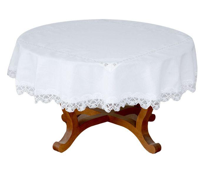 Toalha de Mesa Dorothy Branca - 180cm | Westwing.com.br