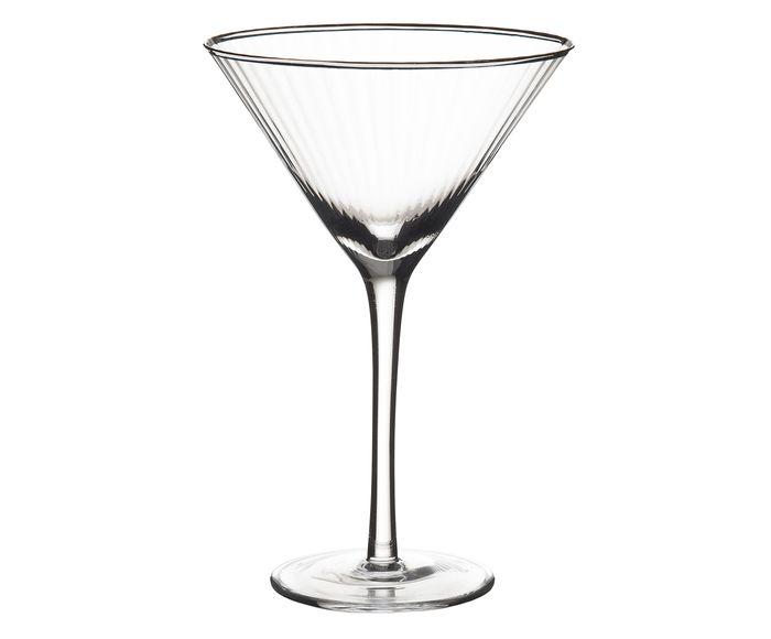 Taça de Martini em Cristal Lunar Toscana - 250ml   Westwing.com.br