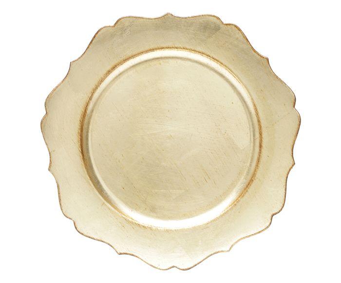 Sousplat Star Dourado - 33cm | Westwing.com.br