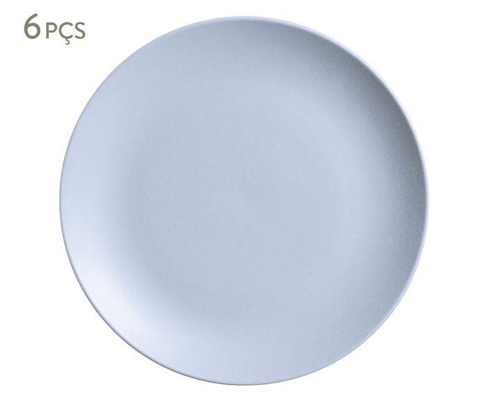 Jogo de Pratos Rasos Coup Stoneware Is - 26,5cm   Westwing.com.br
