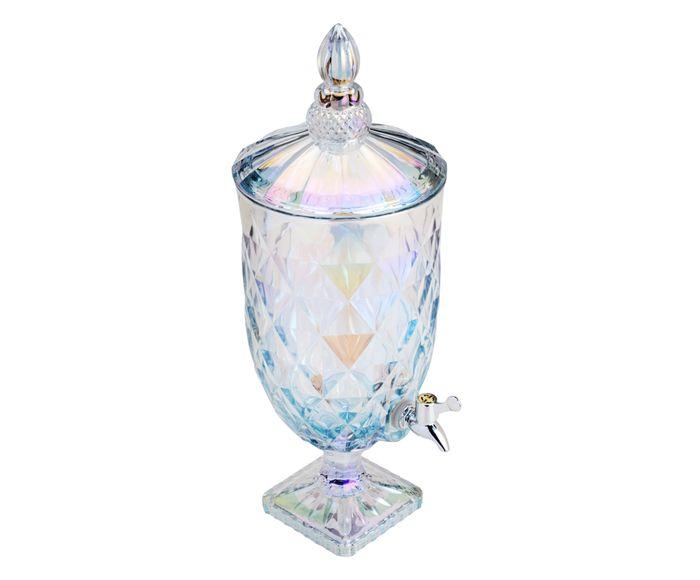 Suqueira em Cristal Ecológico Transparente Rainbow Diamond - 5L   Westwing.com.br