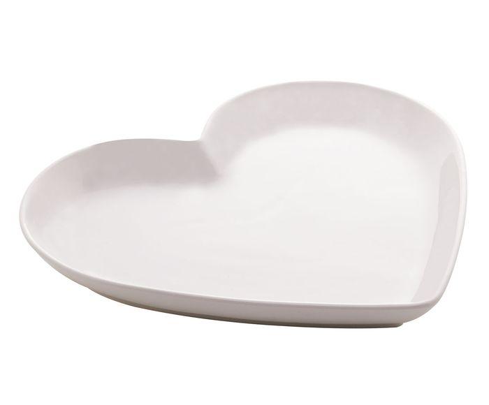 Porta Anéis Coração Branco - 21,5X2,7X20,5cm | Westwing.com.br