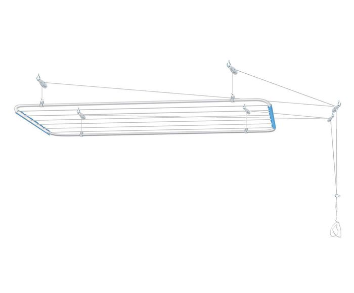 Varal de Teto em Inox Nice Full - 90X56cm   Westwing.com.br