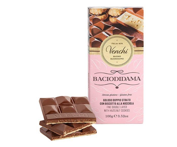 Barra de Chocolate com Pedaços de Bacio Di Dama - 100G | Westwing.com.br