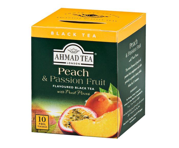 Chá Eau Ahmad Peach & Passion Fruit - 20G   Westwing.com.br