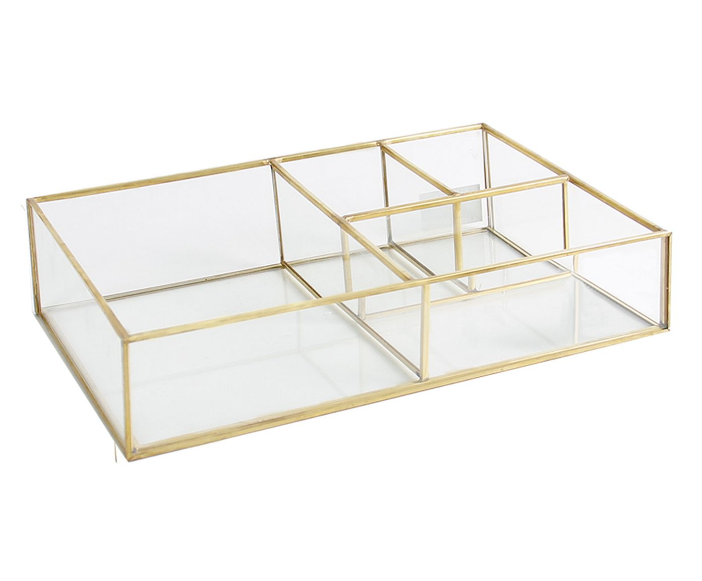 Porta-Objetos Serge Dourado - 28,5X5,5X18,5cm | Westwing.com.br