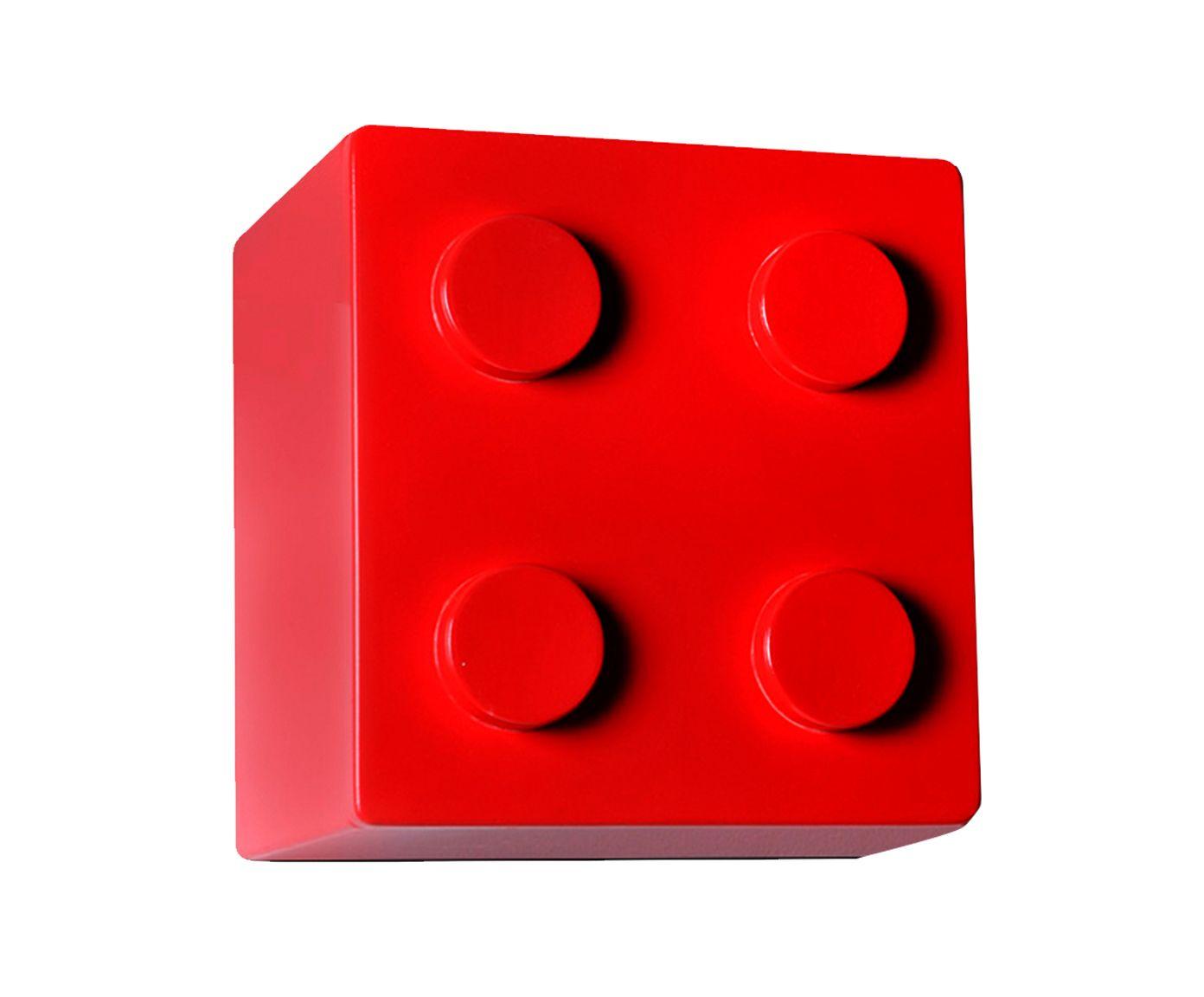 Nicho Lego Vermelho - 30X30X27cm | Westwing.com.br