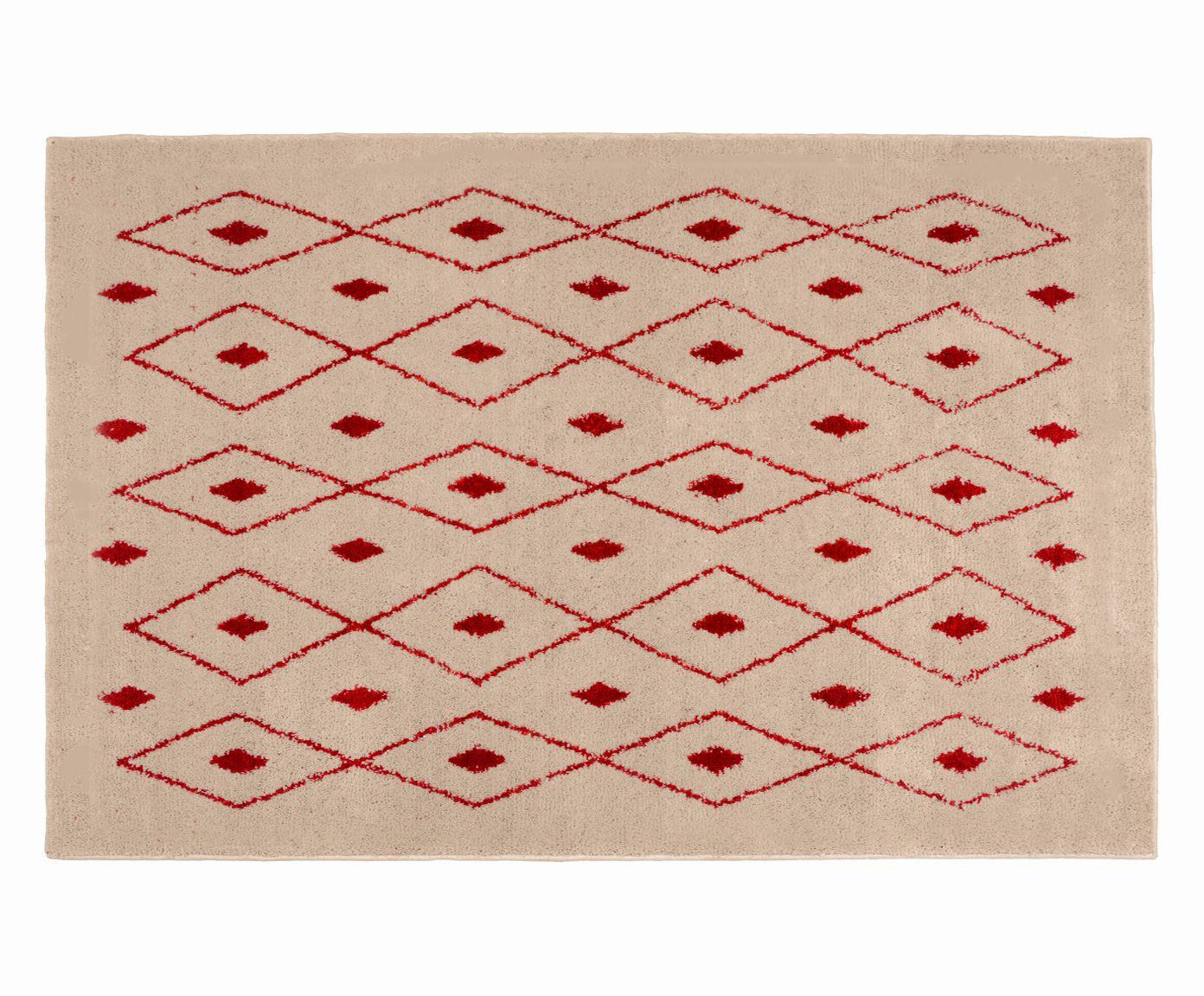 Tapete Art Kahina Pérola e Rubi - 150X200cm, 150x200cm | Westwing.com.br