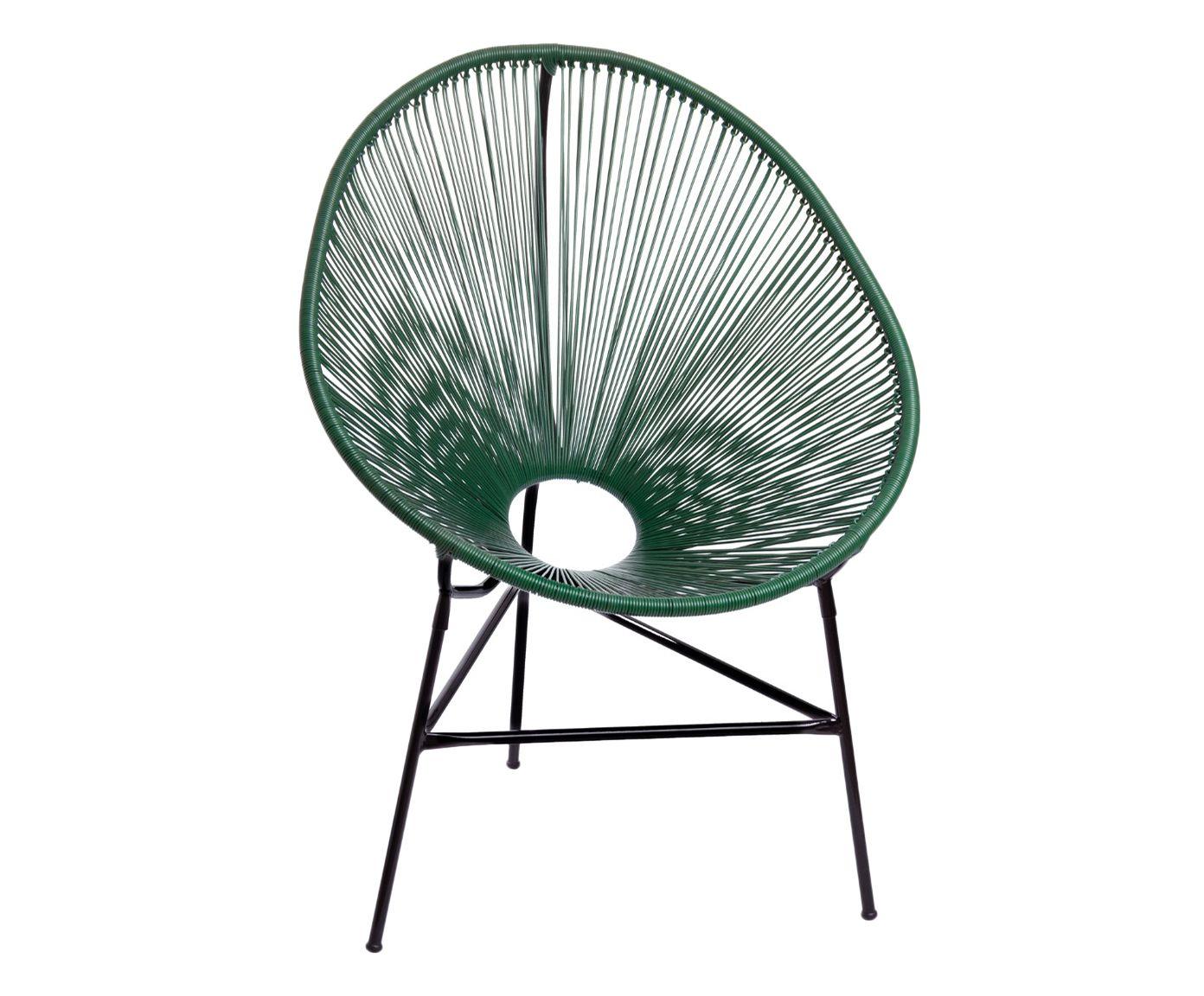 Cadeira Acapulco Verde Musgo - 85X90X45cm | Westwing.com.br