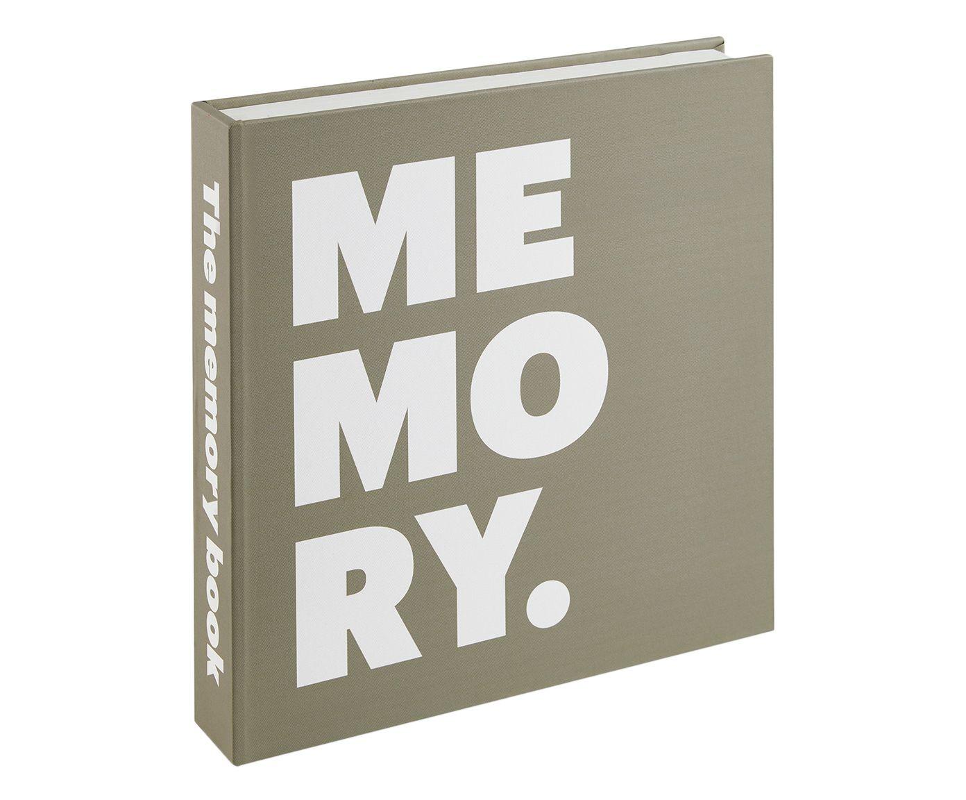Book Box Memory Cinza - 31X31X6cm | Westwing.com.br