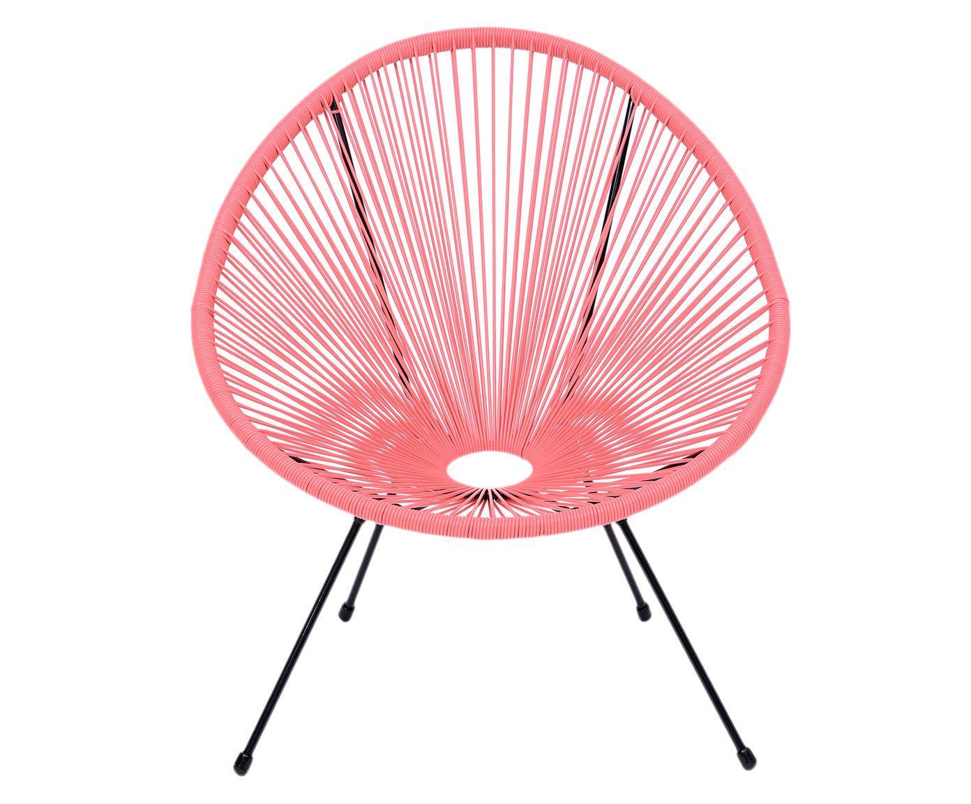 Cadeira Acapulco Coral - 64X66X65cm | Westwing.com.br