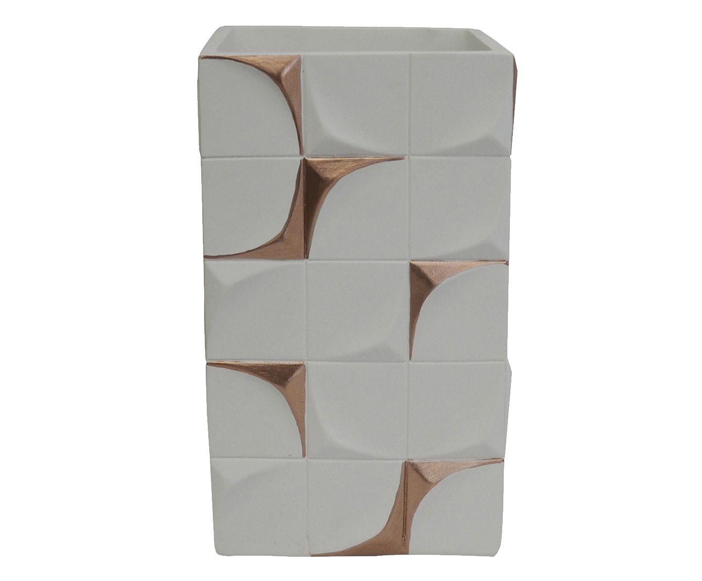 Vaso Avdotya Branco - 12,5X29X8,5cm | Westwing.com.br
