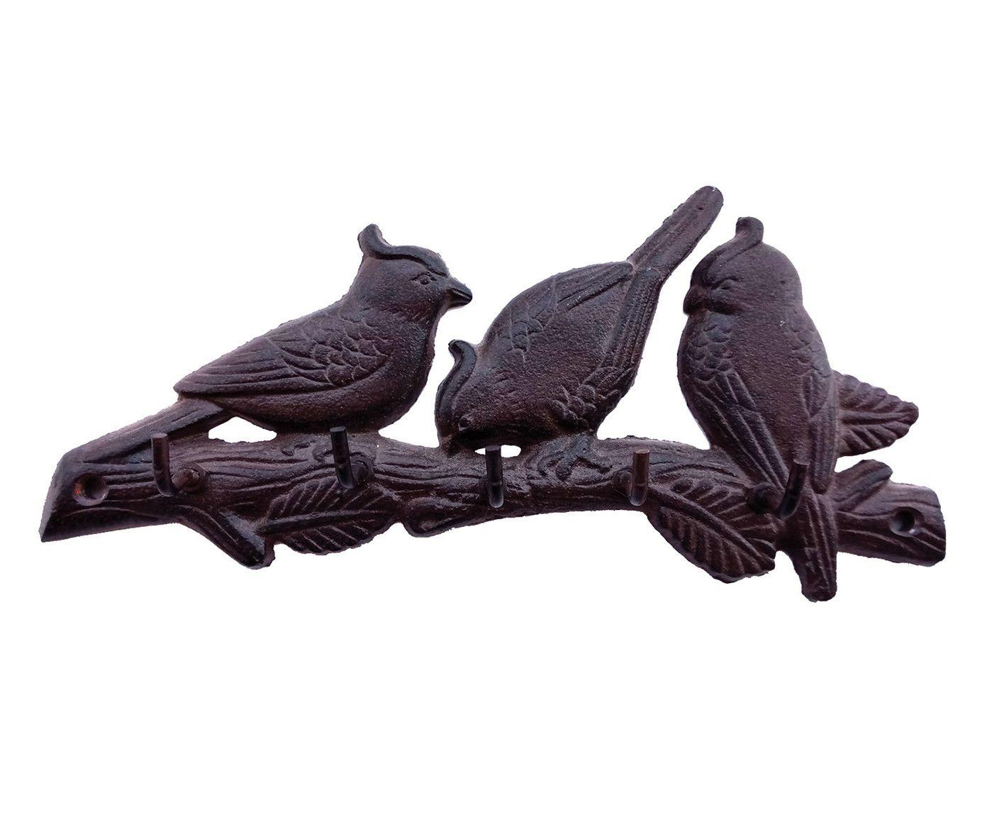 Cabideiro Pássaros - 24X4X11cm | Westwing.com.br