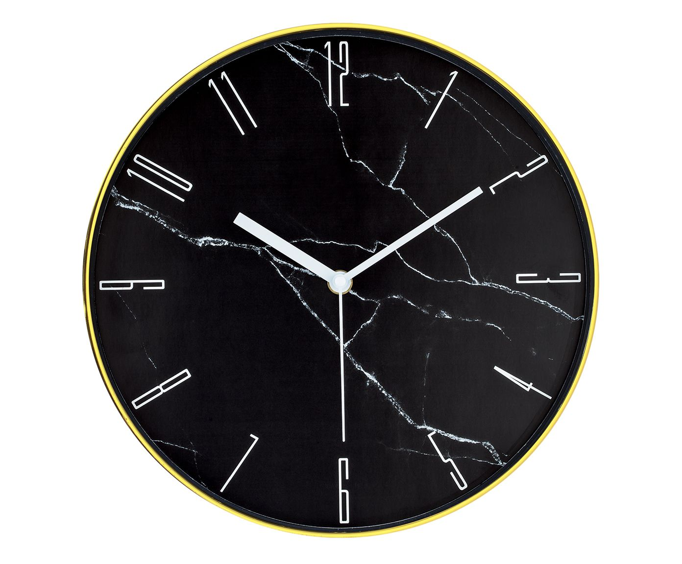 Relógio de Parede Potengy Preto - 30cm | Westwing.com.br