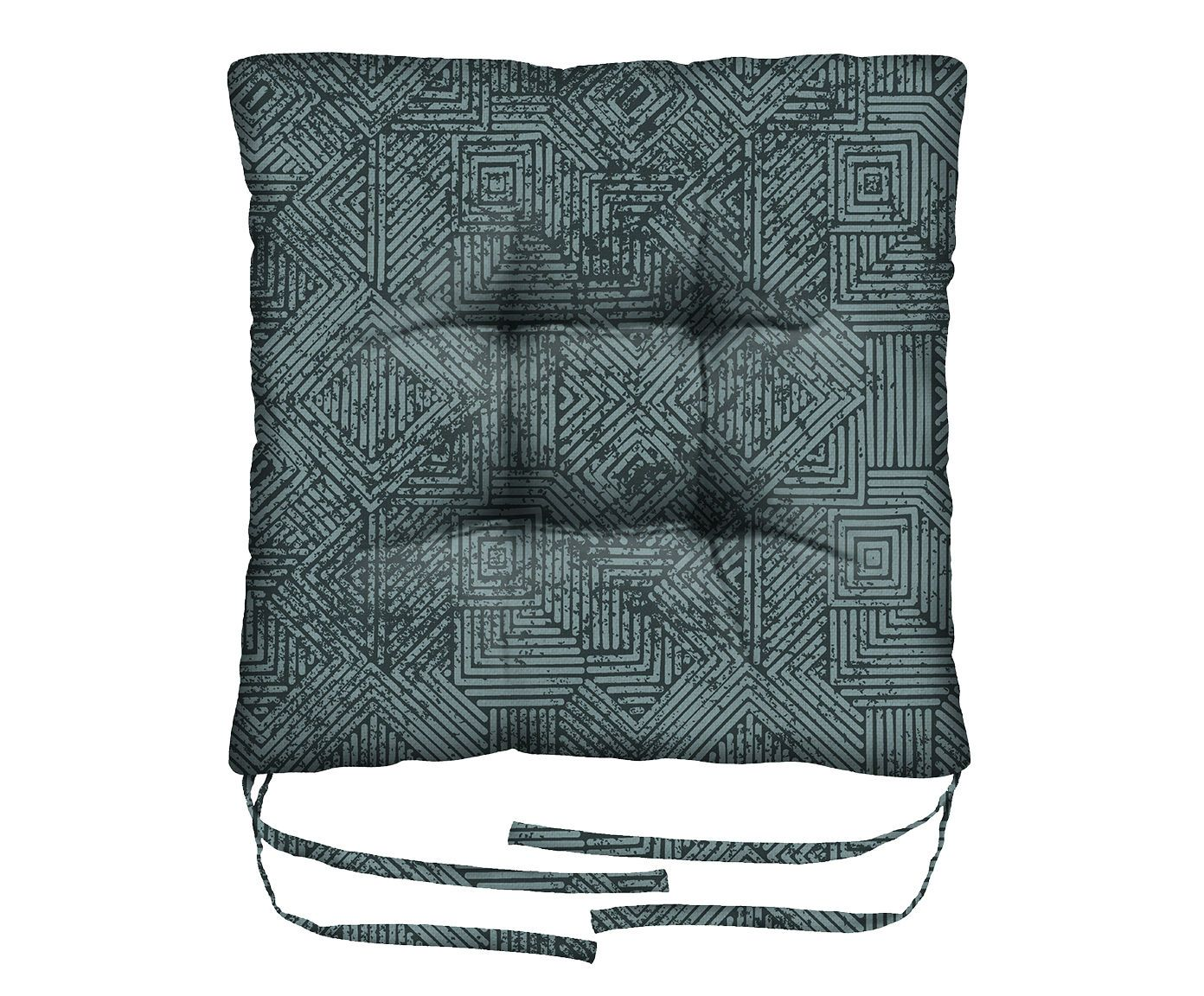 Assento de Cadeira em Linho Misto Volans - 45X45cm   Westwing.com.br