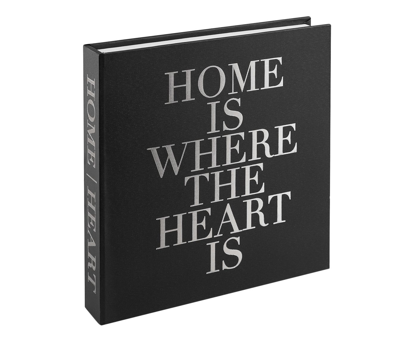 Book Box Home Is Where The Heart Is - 31X6cm | Westwing.com.br