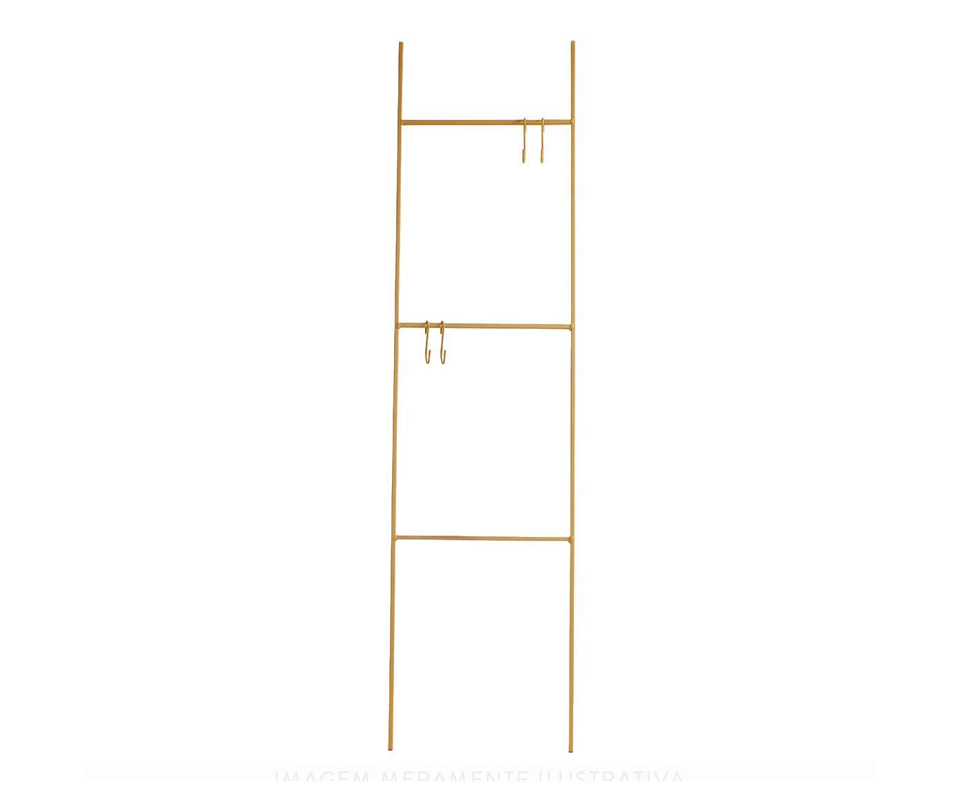 Escada Decorativa Linee Dourada - 40X156X0,8cm | Westwing.com.br