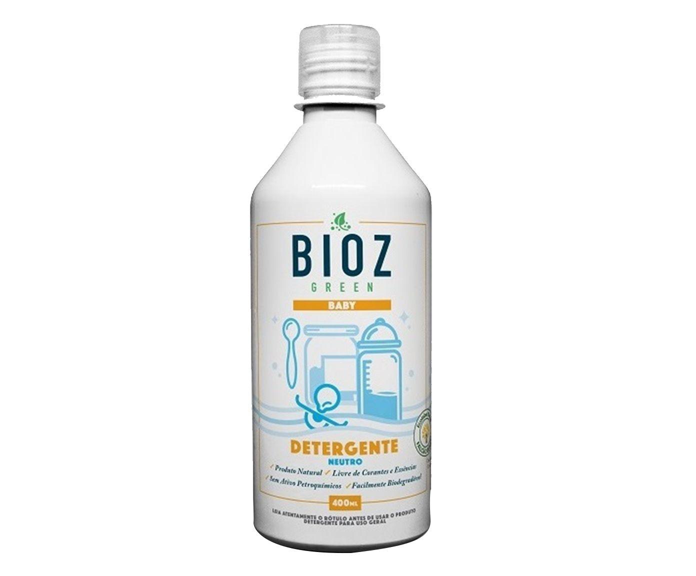 Detergente Neutro Baby Bioz - 400ml   Westwing.com.br