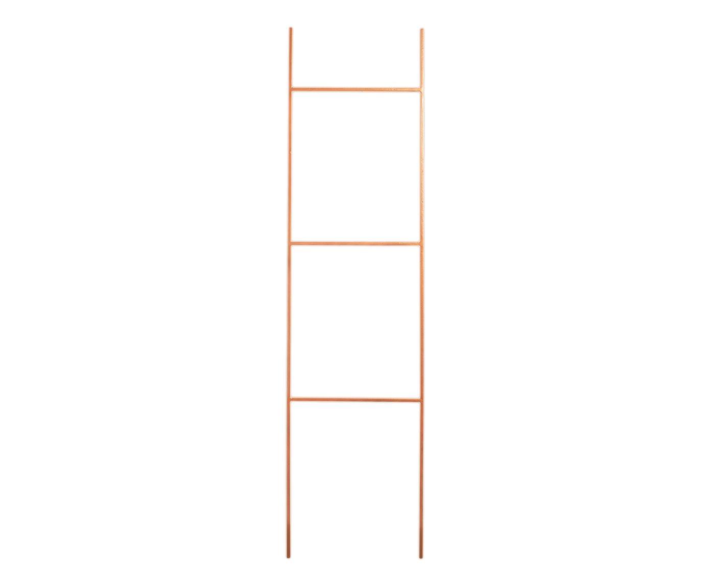 Escada Decorativa Linee Acobreada - 40X156X0,8cm   Westwing.com.br