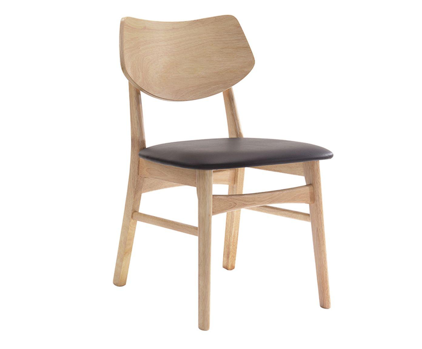 Cadeira Gilmore Marrom Claro - 49X76,5X53cm | Westwing.com.br