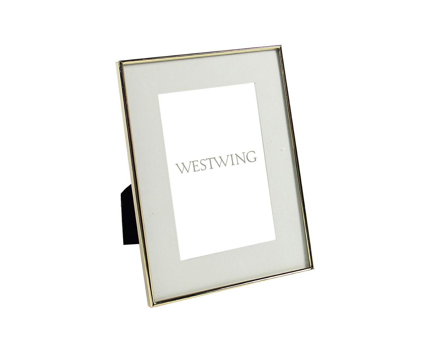 Porta-Retrato Tunceli I Dourado - 20,8X25,8X15cm | Westwing.com.br