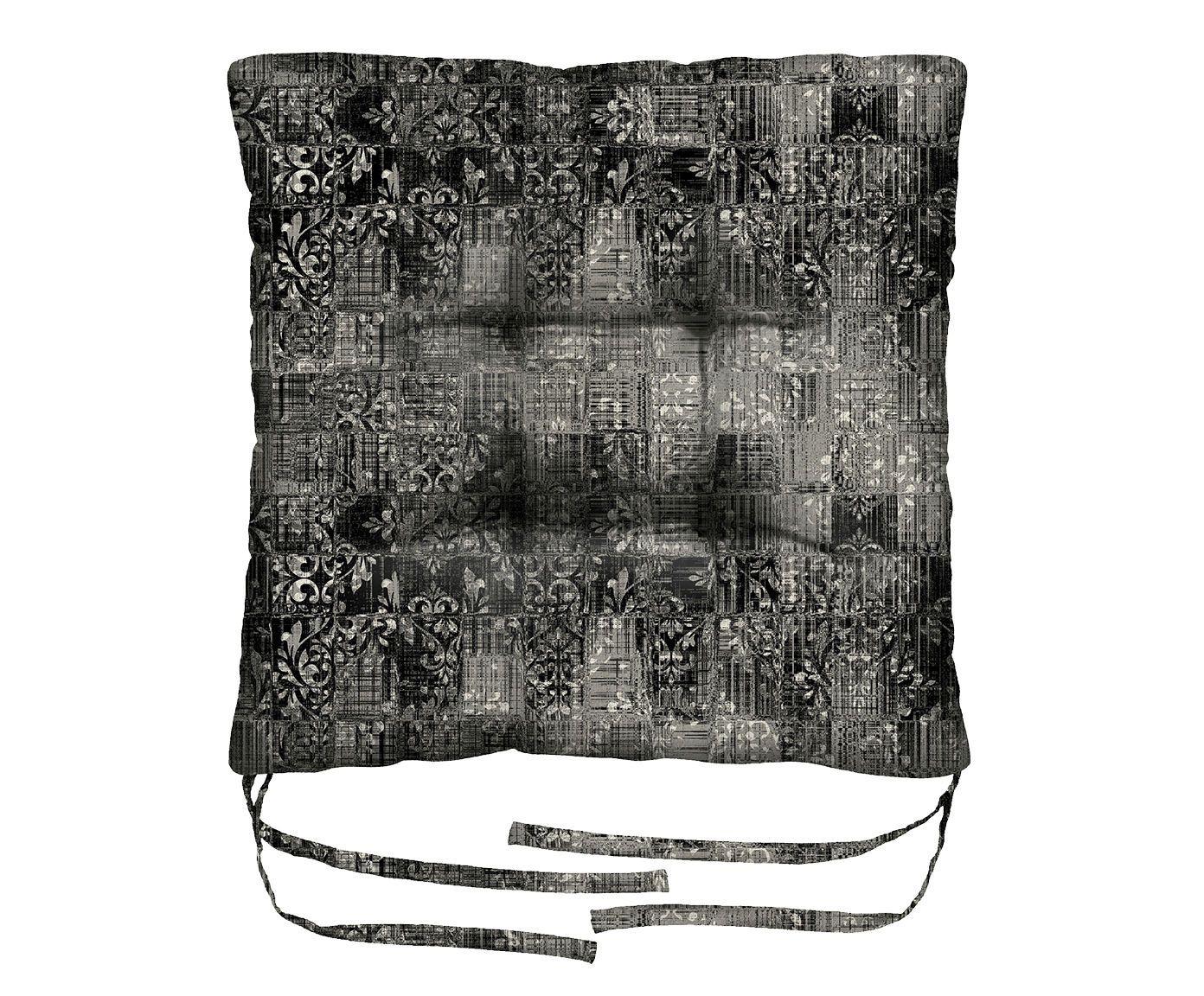 Assento de Cadeira em Linho Misto Capricornus - 45X45cm | Westwing.com.br