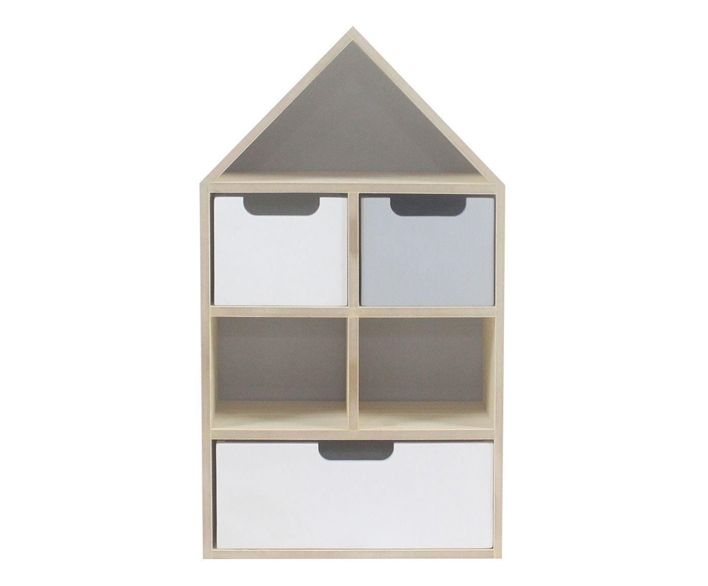 Gabinete Home Cinza - 32X56,5X15cm | Westwing.com.br