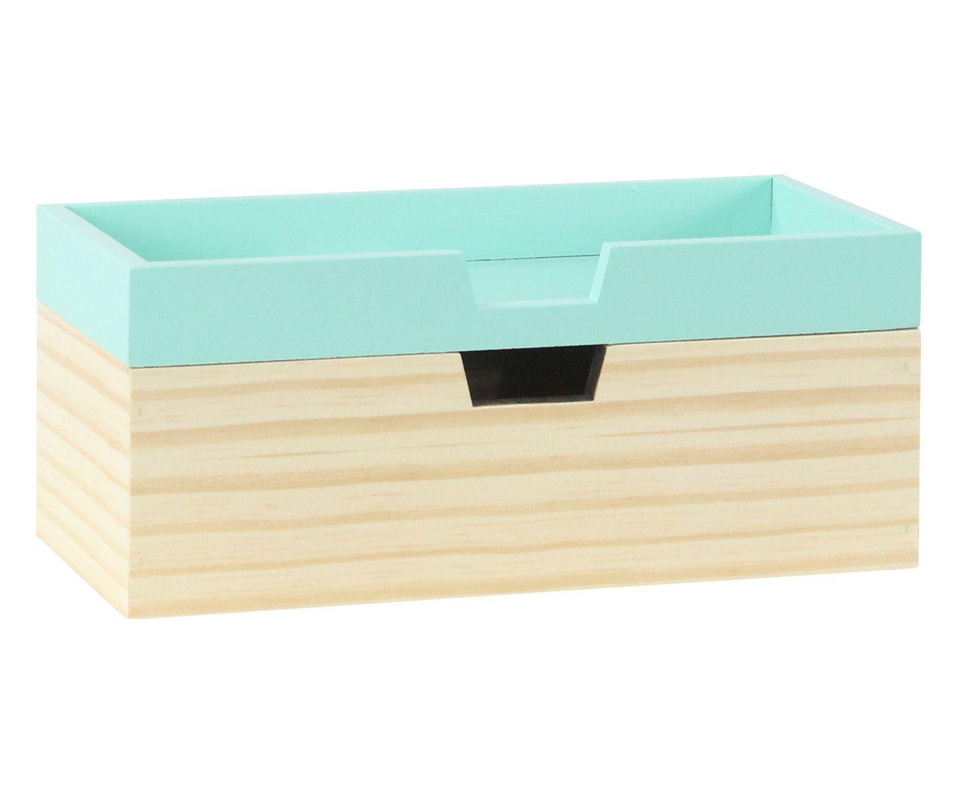 Caixa Organizadora Olsen Verde Celadon - 28X12X14cm | Westwing.com.br