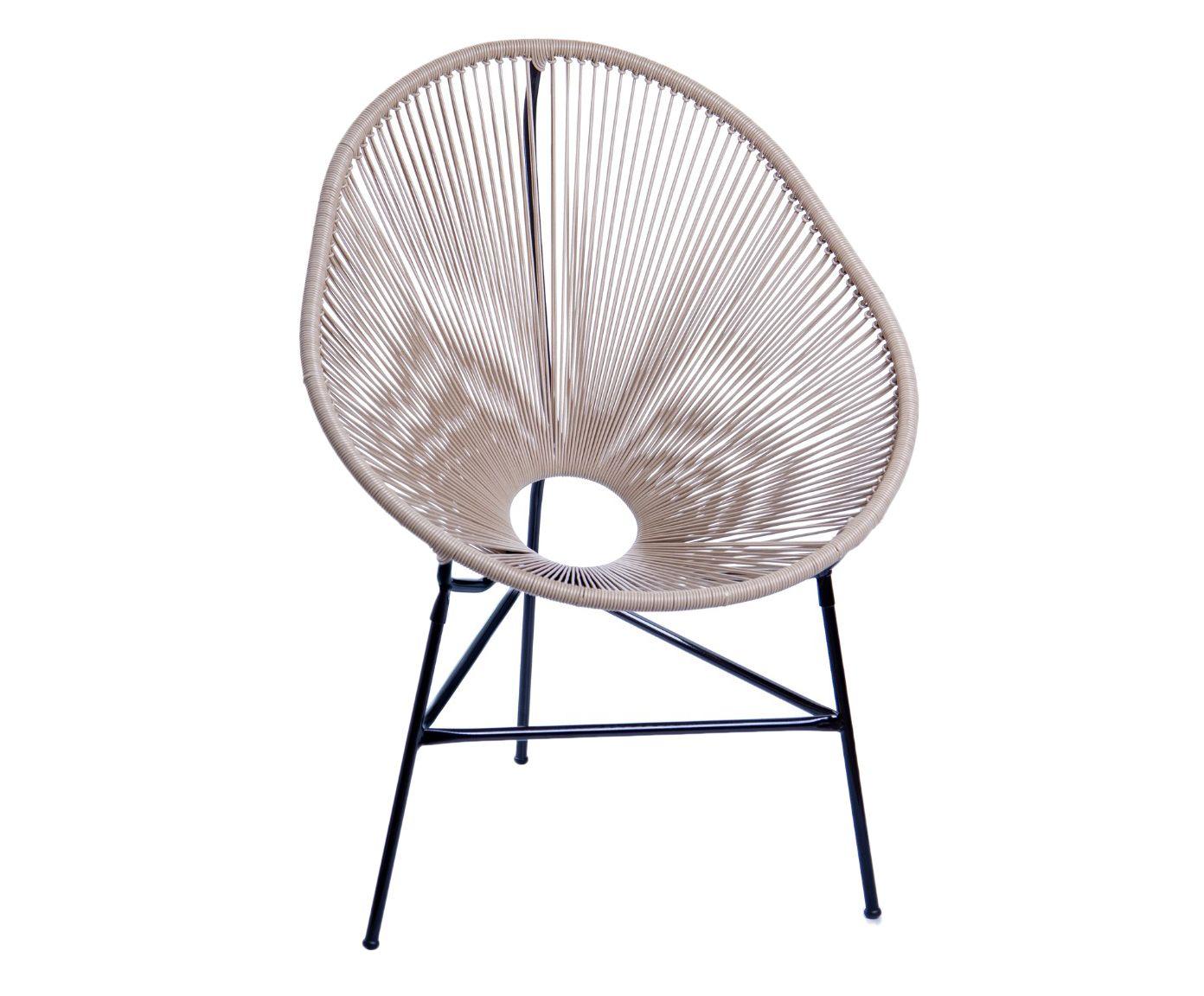 Cadeira Acapulco Fendi - 85X90X45cm   Westwing.com.br