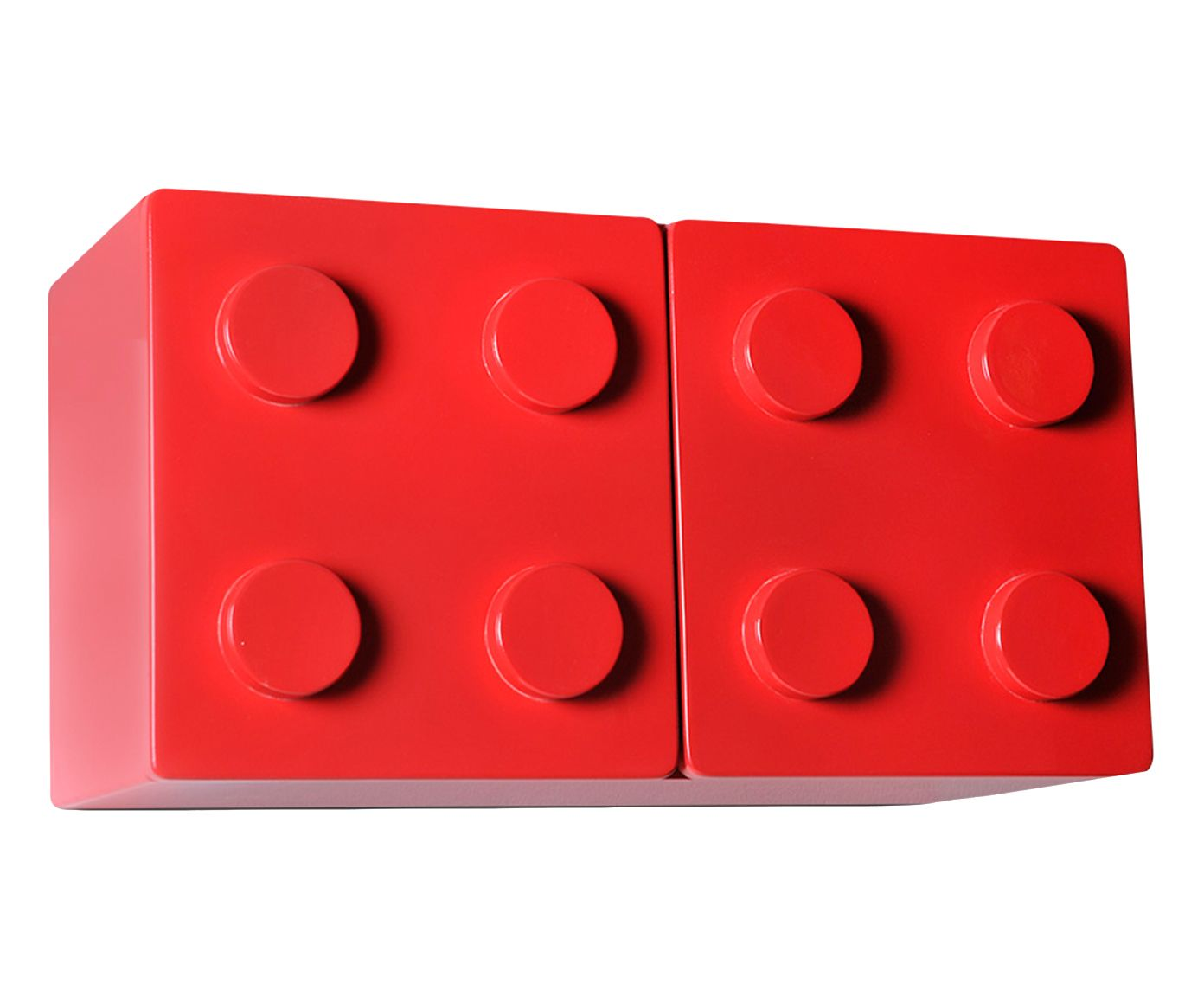 Nicho Lego Vermelho - 55X30X27cm | Westwing.com.br