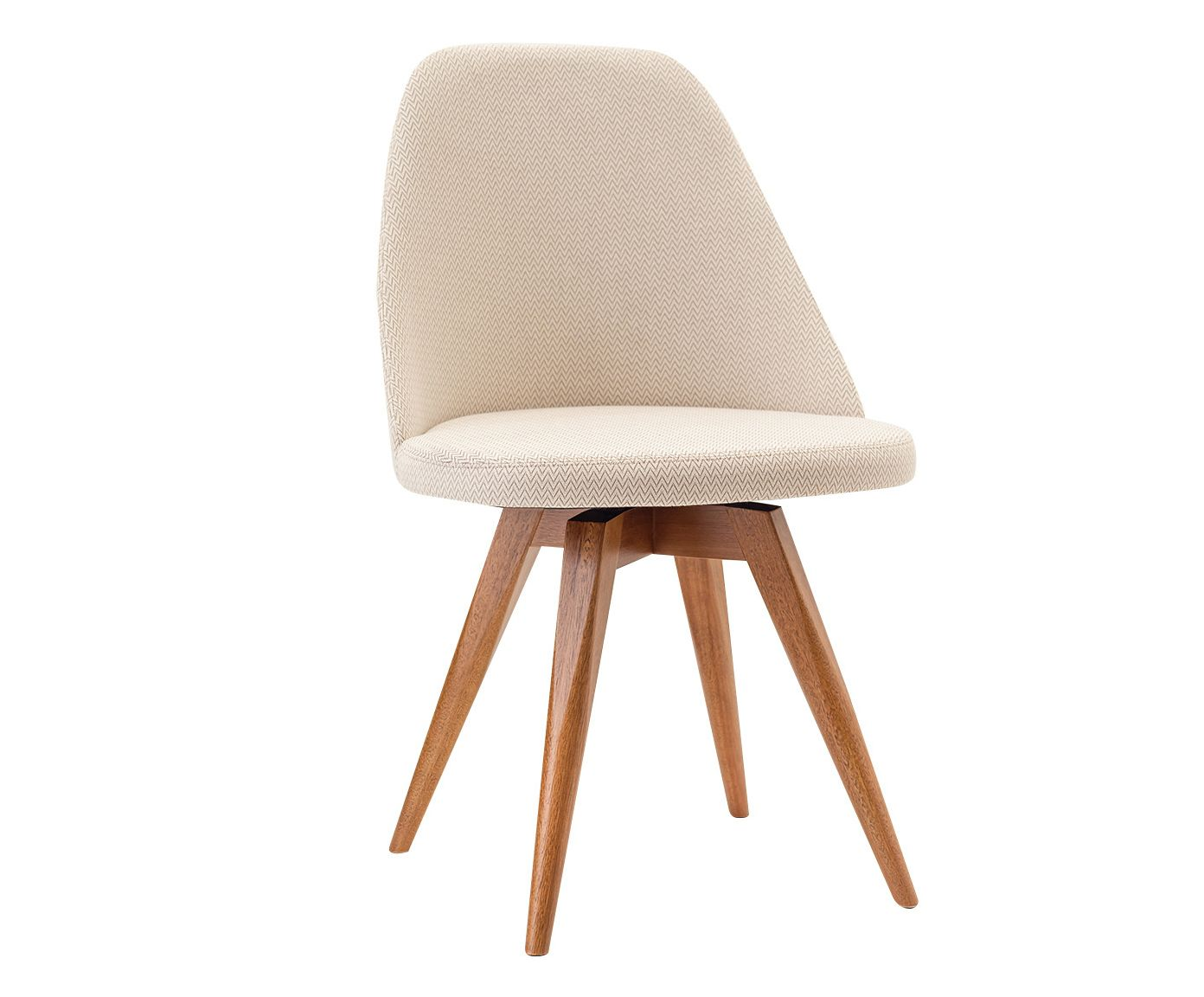 Cadeira Fixa Lucy Bege Claro - 53X86X55cm | Westwing.com.br
