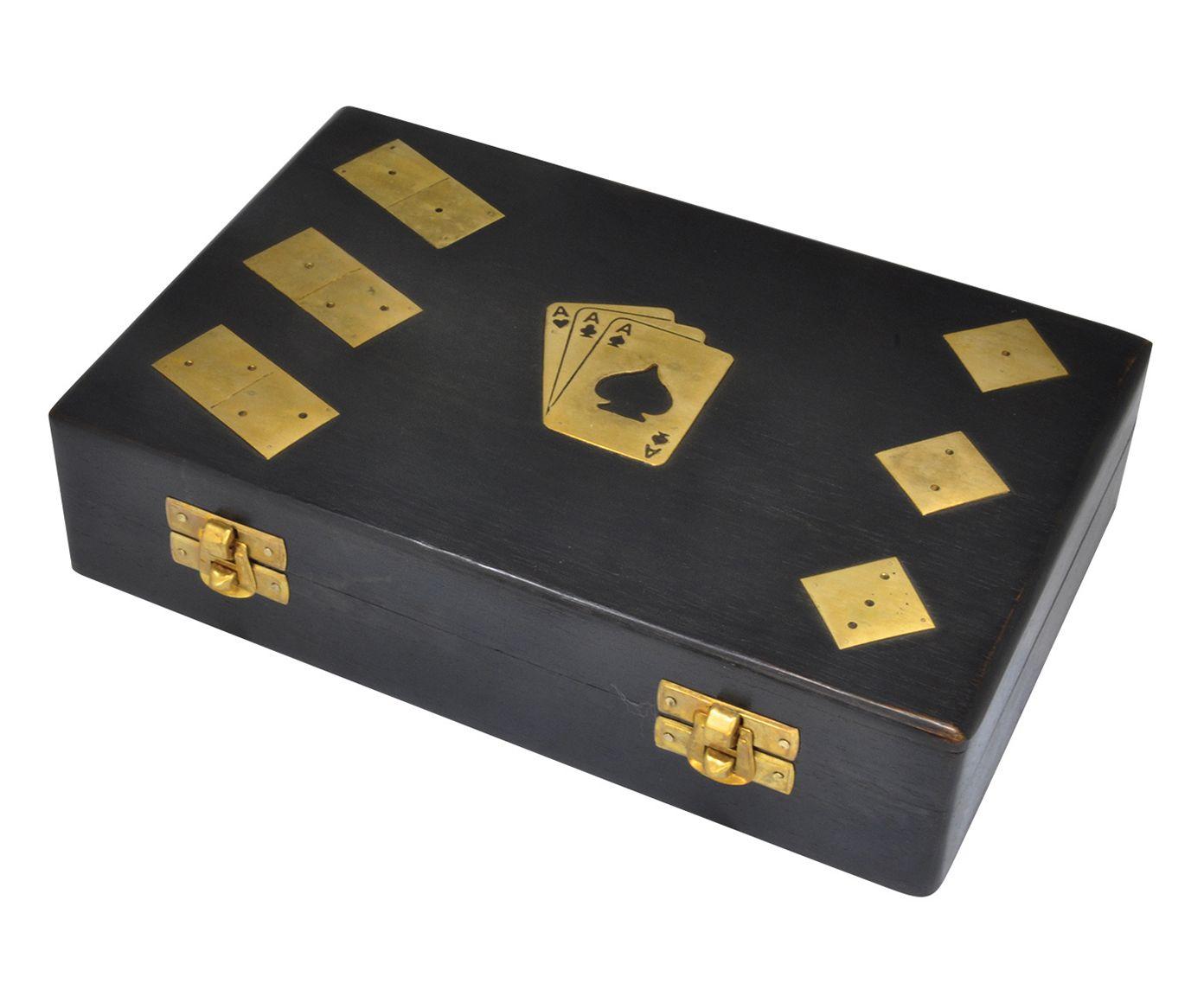 Caixa de Jogos Versitalie - 22X6X14cm   Westwing.com.br