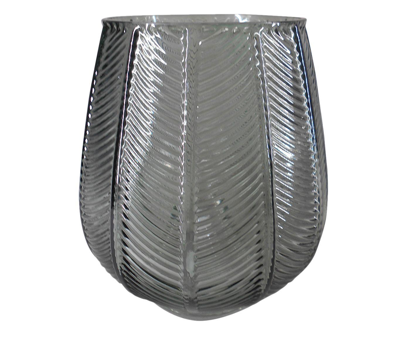 Vaso Pola Fumê - 18cm   Westwing.com.br