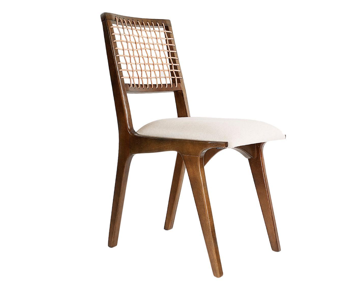 Cadeira em Couro Verona - 43X86X55cm   Westwing.com.br