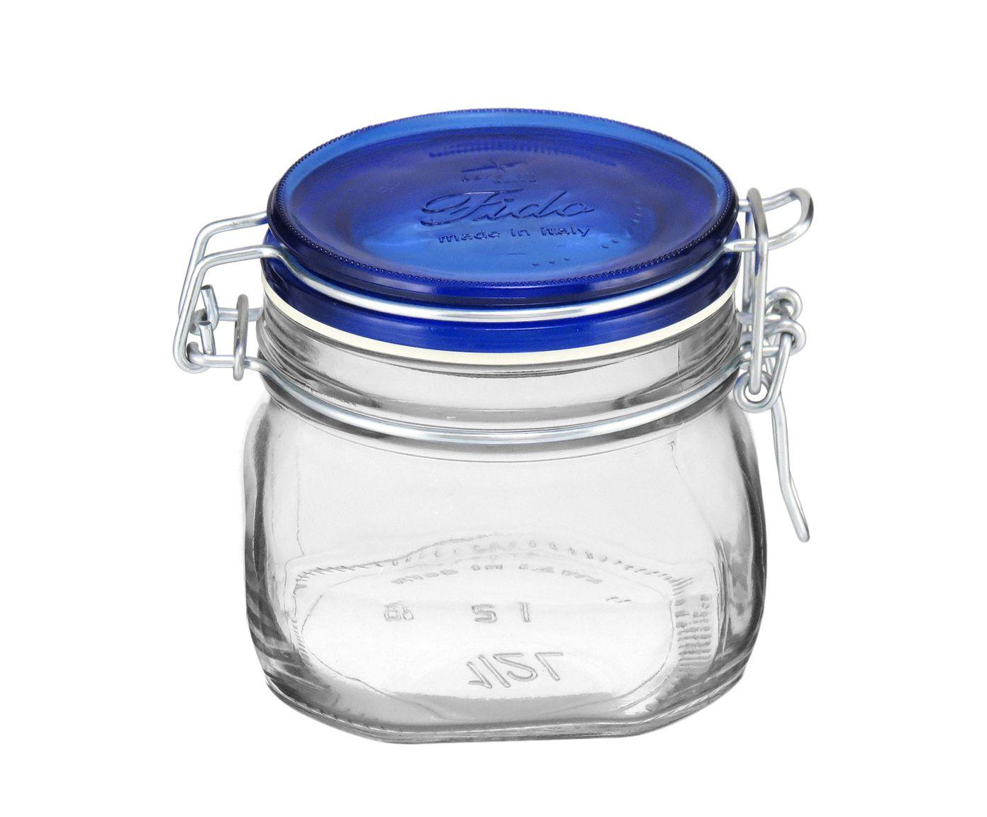 Pote Hermético Fido Azul - 500ml | Westwing.com.br