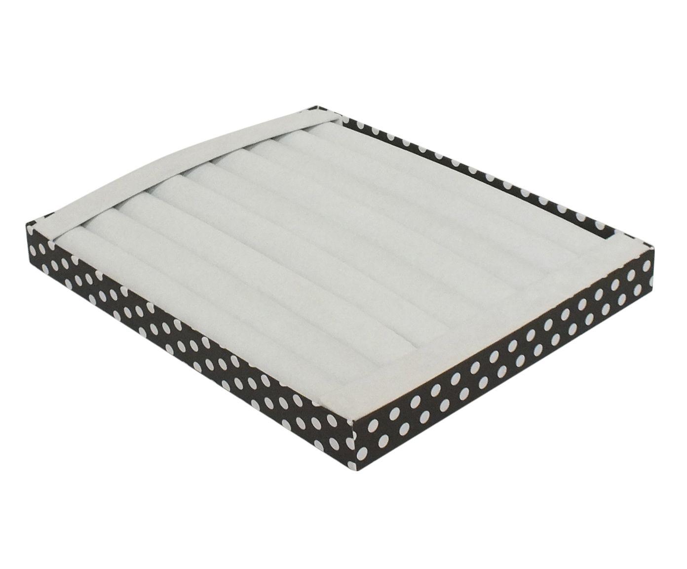 Bandeja Organizadora para Anéis Bolas Branca - 31X3,5X26cm | Westwing.com.br